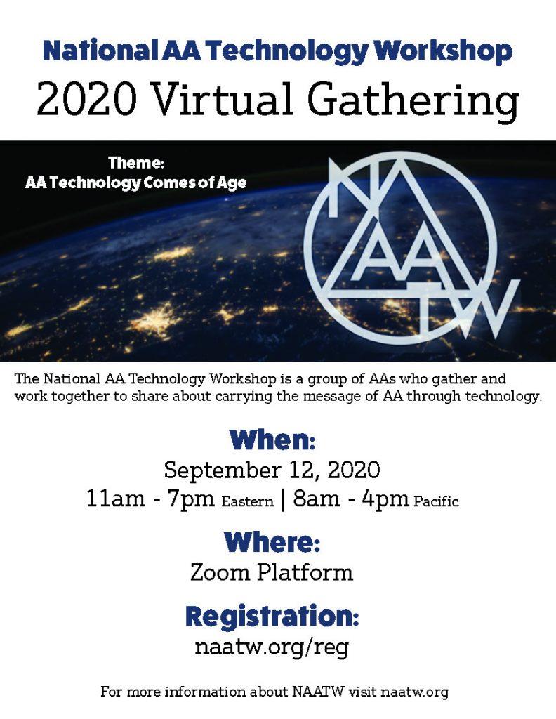 2020 Virtual Gathering NAATW